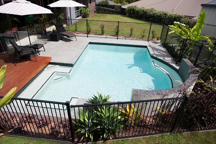 a nice looking pool